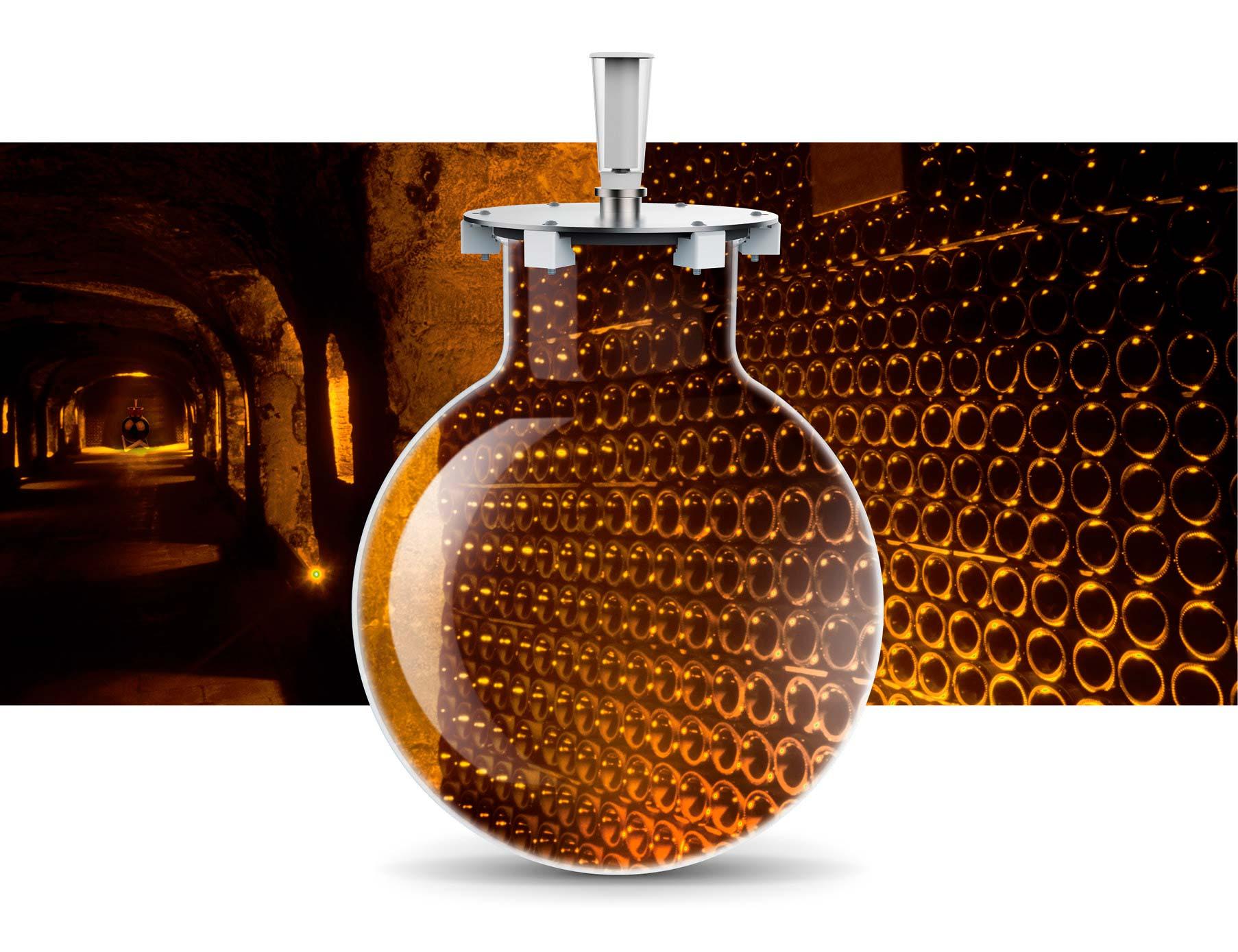 Wineglobe, le vieillissement du vin dans notre cuve en verre